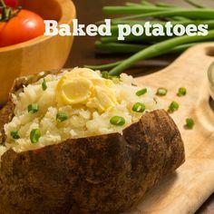 Ricetta baked potatoes (a modo mio)