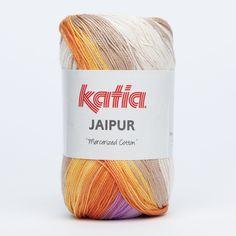 JAIPUR yarn of Spring / Summer from Katia  LOVE THIS YARN / THREAD