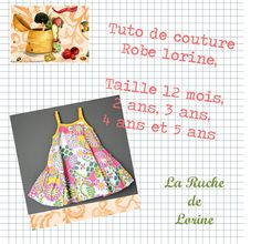 La ruche de Lorine: Patron de la robe Lorine