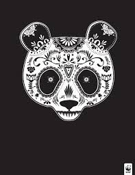 Day of the dead panda
