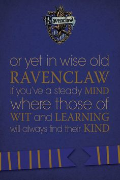 ravenclaw print