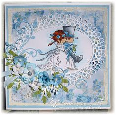 Tracey's Country Crafts: Wedding Card