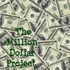 4mula Fun! :): Million Dollar Project (I'd put a limit on the cost of the car also!)