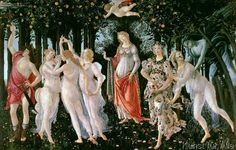 Sandro Botticelli - Primavera, c.1478,