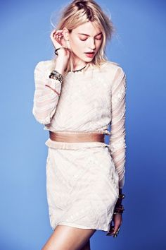 Free People January 2013 Lookbook - The Budget Babe  Let's talk about fringe and lace people!