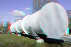 https://flic.kr/p/24JtQ8k | test track Hyperloop TU Delft 3D | anaglyph stereo red/cyan tranportation Tube  Elon Musk  Tim Houter