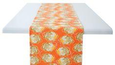 zinnia table runner by rock flower paper