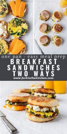 Vegetarian Main Dishes, Vegetarian Breakfast, Breakfast Recipes, Vegetarian Recipes, Healthy Recipes, Easy Meal Prep, Quick Easy Meals, Cheesy Bread Recipe, Frozen Breakfast