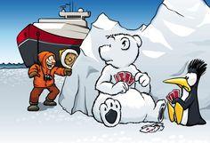 Neulich in der Arktis...