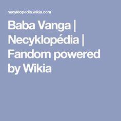 Baba Vanga | Necyklopédia | Fandom powered by Wikia