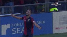 Leonardo Pavoletti Amazing Goal ~ Genoa vs Palermo 4-0 ~ 17/1/2016 [Seri...