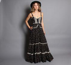 Vintage Gunne Sax Maxi Dress   Flickr - Photo Sharing!