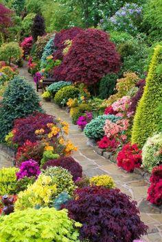 35 Simple DIY Backyard Landscaping on a Budget Landscaping . - Jewelry 35 Simple DIY Backyard Landscaping on a Budget Landscaping . Diy Garden, Spring Garden, Dream Garden, Garden Paths, Garden Shrubs, Garden Kids, Gravel Garden, Garden Pond, Balcony Garden