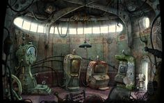 Machinarium art work
