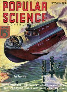 Popular Science Magazine Cover