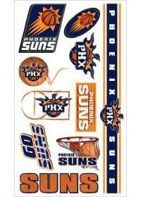 Caseys Distributing 3208514382 Phoenix Suns Temporary Tattoos by Caseys Distributing. $14.25. What a fun way to show your team spirit! Each package includes one sheet of 10 tattoos. The tattoos are completely safe, non-toxic, hypo-allergenic, and all ingredients are FDA regulated . They last for days and can be easily removed with household rubbin. Save 26%!