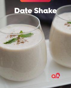 Date Smoothie Recipes, Summer Drink Recipes, Shake Recipes, Milk Recipes, Coffee Recipes, Indian Dessert Recipes, Pasta, Milkshake, Food Network