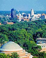 Aerial View Durham - Durham, North Carolina