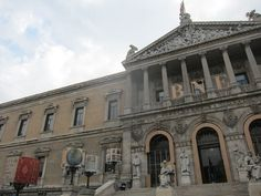 Biblioteca Nacional. Madrid by voces, via Flickr