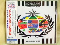 CD/Japan- BEATS INTERNATIONAL Let Them Eat Bingo +3 trx w/OBI RARE Fatboy Slim #HouseDub