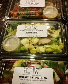 Fresh and Fit Meal Prep by Lasting Memories Events and Catering.