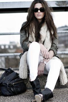 winter time arizona girl