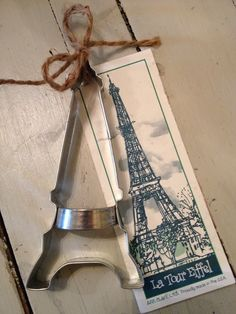 Eiffel Tower cookie cutter...