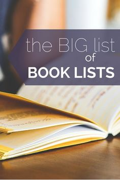 Wondering what to read next? Wonder no more. It's 'The Big List of Book Lists'