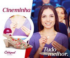 Cineminha, sandália Campesí... assim tudo fica melhor!