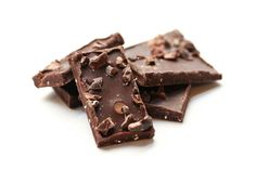 Chocolate Peppermint Bark with Cocoa Nibs - vegan dark chocolate treat