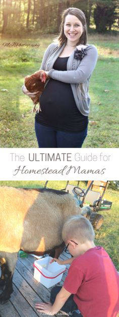 The Ultimate Guide for Homestead Mamas is packed with resources for your home, farm, and homeschool!