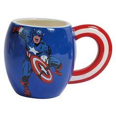 Captain America 15 Ounce Tasse