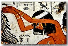Murals from the tomb of Nebamun, British Museum, London. by Hans Ollermann, via Flickr Ancient Egyptian Paintings, Life In Egypt, Kemet Egypt, The Bible Movie, Ancient Civilizations, Egyptians, Ancient Aliens, British Museum, Love Art
