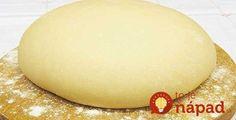 Vynikajúce cesto bez vajec, ktoré je perfektné na slané aj sladké domáce pečivo. Jednoducho, už nemusíte hľadať rôzne recepty, stačí vám poznať tento jeden!