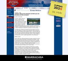 ::São Paulo Boat Show::  Ashland e Barracuda participam da fabricação das Ecobalsas   Acesse o link da matéria http://www.saopauloboatshow.com.br/2011/noticias/viewnews.php?nid=ult0c40e4e6a5ac1d5be8d56b2131e98310
