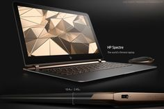 HP - the believer of reinvention, has stepped-up the game for sleek and sassy laptops by stealing the show with it's all new HP Spectre.