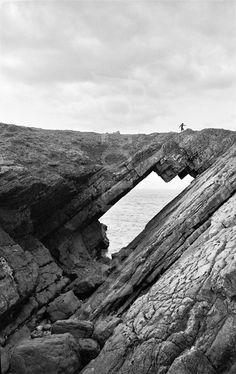 Devil's Bridge, Worms Head, Rhossili, Wales