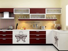 Elegant Kitchen Cabinets With a Beautiful Simplicity Top Inspirations Modern Kitchen Cabinets Beautiful Cabinets Elegant Inspirations Kitchen simplicity Top Kitchen Cabinet Interior, Redo Kitchen Cabinets, Kitchen Cupboard Designs, Kitchen Room Design, Kitchen Cabinet Colors, Modern Kitchen Design, Home Decor Kitchen, Interior Design Kitchen, Kitchen Furniture