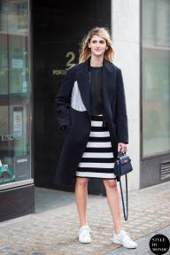 London Fashion Week FW 2015 Street Style: Daiane Conterato