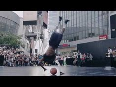 (MUST WATCH) Jus Fly INSANE Dunk at LA Live! [HD]