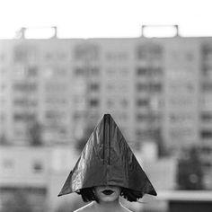 "Saatchi Online Artist: Tomas Urbelionis; Gelatin Silver Process, 2010, Photography ""Cold town woman"""
