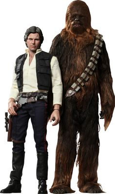 Pre-Order Hot Toys Star Wars Han Solo & Chewbacca Figure Set  www.fanboycollectibles.com