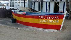 """I love Spain"". My Love, Learn Spanish, Tourism, Travel, My Boo"