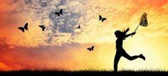 Cuando es libre no necesita nada más para complementar su felicidad...