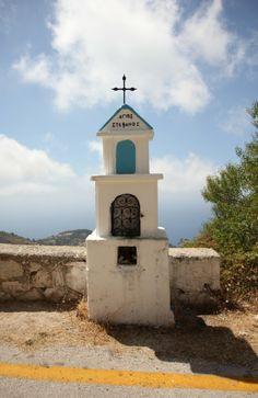 Lefkada-Greece- Roadside Shrines