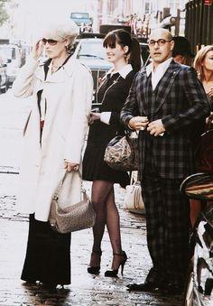 The Devil Wears Prada [Meryl Streep, Anne Hathaway, and Stanley Tucci]