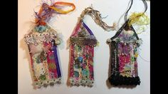 Boho Fabric Gypsy Cottages/The Gypsy & The Witch/Mixed Media