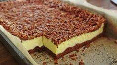 Sernik w cieście kakaowym/ Cocoa dough cheesecake - Gosia's Food 'n' Lifestyle Romanian Desserts, Romanian Food, My Dessert, Dessert Drinks, Sweet Recipes, Cake Recipes, Dessert Recipes, Ukrainian Recipes, No Cook Desserts