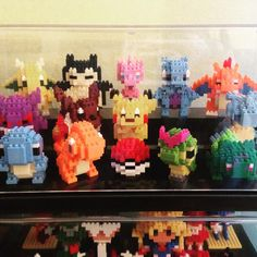 Collection is looking good  #mew #pokemon #nanoblock #happy #fun #hobby #hobbies #collection