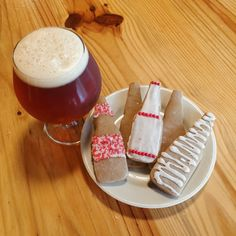 Christmas Ale Gingerbread Cookies with Cinnamon Icing | Great Lakes Brewing Company